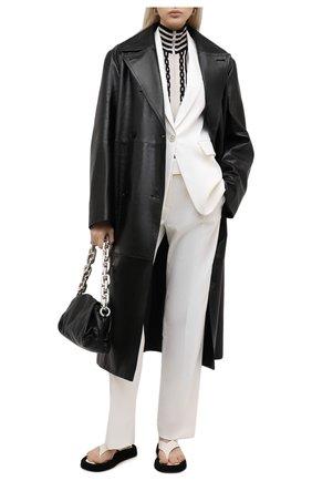 Женский жакет ELEVENTY белого цвета, арт. B80GIAB01 TES0B191 | Фото 2