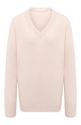 Женский пуловер из шерсти и кашемира THE ROW бежевого цвета, арт. 4650Y184 | Фото 1
