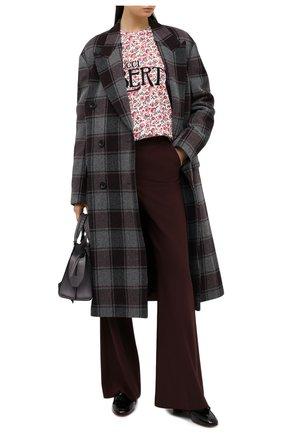 Женская хлопковый свитшот GUCCI розового цвета, арт. 638043/XJCYA | Фото 2