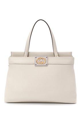 Женская сумка linea matisse small GUCCI белого цвета, арт. 631663/1W10X | Фото 1