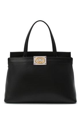 Женская сумка linea matisse small GUCCI черного цвета, арт. 631663/1W10X | Фото 1