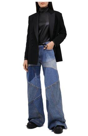 Женские джинсы TOM FORD голубого цвета, арт. PAD073-DEX123 | Фото 2