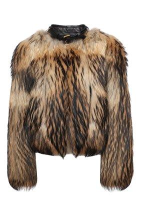 Женская шуба TOM FORD коричневого цвета, арт. CPF330/T80381 | Фото 1