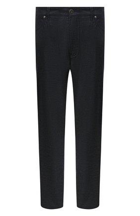 Мужские брюки из шерсти и кашемира CORTIGIANI темно-серого цвета, арт. 913572/S409/0000/2396/60-70 | Фото 1