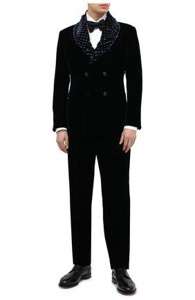 Мужской пиджак GIORGIO ARMANI темно-синего цвета, арт. 9WGGG0B4/T0025 | Фото 2