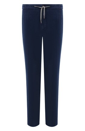 Мужские хлопковые брюки MARCO PESCAROLO синего цвета, арт. CARACCI0L0/4219 | Фото 1