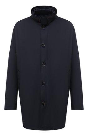 Мужская утепленное пальто KIRED темно-синего цвета, арт. WP0RDW7200002003/62-72   Фото 1