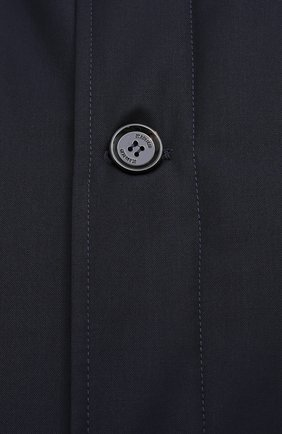 Мужская утепленное пальто KIRED темно-синего цвета, арт. WP0RDW7200002003/62-72 | Фото 5