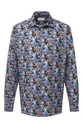 Мужская хлопковая рубашка ETON синего цвета, арт. 1000 01812 | Фото 1