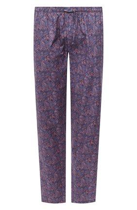 Мужские домашние брюки ZIMMERLI синего цвета, арт. 4700-75180 | Фото 1