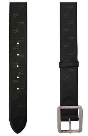 Мужской кожаный ремень BILLIONAIRE черного цвета, арт. W20A MVA0575 BLE029N | Фото 2