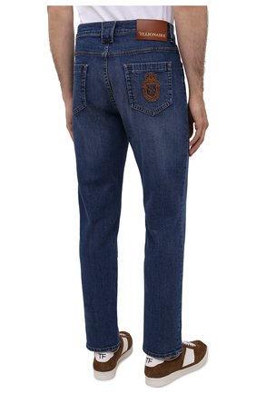 Мужские джинсы BILLIONAIRE голубого цвета, арт. W20C MDT2279 BTE001N | Фото 4