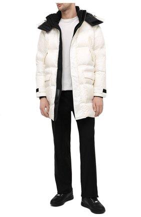 Мужские кожаные кроссовки BILLIONAIRE черного цвета, арт. W20S MSC2890 BXV016N   Фото 2