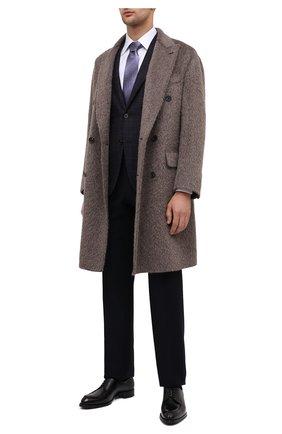 Мужской шерстяной пиджак CORNELIANI фиолетового цвета, арт. 86X240-0816221/90 | Фото 2