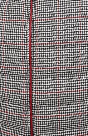 Мужской пуховый жилет BRUNELLO CUCINELLI черно-белого цвета, арт. MN4831714 | Фото 5