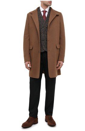 Мужские шерстяные брюки GIORGIO ARMANI темно-серого цвета, арт. 0WGPP0D5/T005A | Фото 2