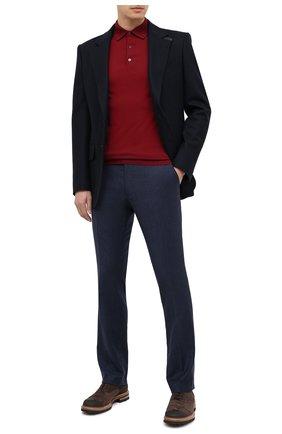 Мужские шерстяные брюки BERWICH темно-синего цвета, арт. SC/1 ALC/MZ1853X | Фото 2