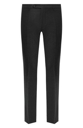 Мужские шерстяные брюки BERWICH темно-серого цвета, арт. SC/1 ALC/MZ1853X | Фото 1