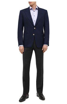 Мужские шерстяные брюки BERWICH темно-серого цвета, арт. SC/1 ALC/MZ1853X | Фото 2