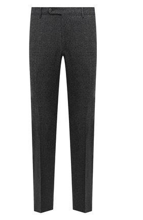Мужские шерстяные брюки BERWICH темно-серого цвета, арт. SC/1 ALC/RD1436   Фото 1