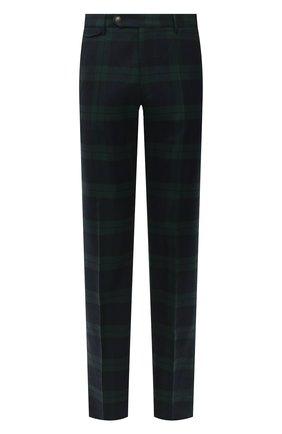Мужские шерстяные брюки BERWICH темно-зеленого цвета, арт. VULCAN0Z/AM1260 | Фото 1