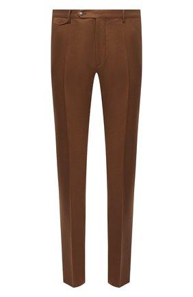Мужские шерстяные брюки BERWICH коричневого цвета, арт. VULCAN0Z/VB8996 | Фото 1