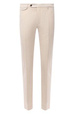 Мужские шерстяные брюки BERWICH белого цвета, арт. VULCAN0Z/VB8996 | Фото 1