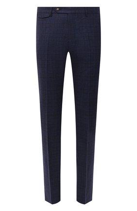 Мужские шерстяные брюки BERWICH темно-синего цвета, арт. VULCAN0Z/ZG1914X | Фото 1