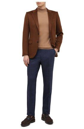 Мужские шерстяные брюки BERWICH темно-синего цвета, арт. VULCAN0Z/ZG1914X | Фото 2