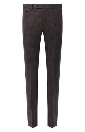 Мужской шерстяные брюки BERWICH темно-коричневого цвета, арт. VULCAN0Z/ZG1914X   Фото 1