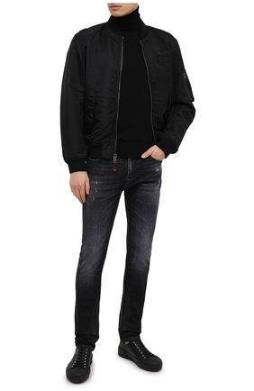 Мужские джинсы 7 FOR ALL MANKIND черного цвета, арт. JSD4A550TC | Фото 2