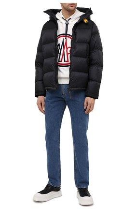Мужская пуховая куртка PARAJUMPERS темно-синего цвета, арт. EN06/RIN | Фото 2