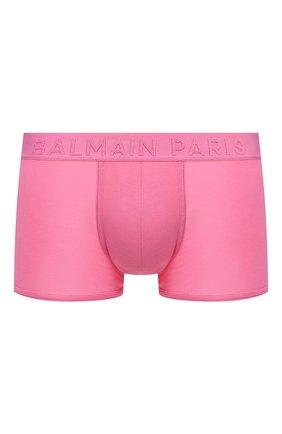 Мужские боксеры BALMAIN розового цвета, арт. BRLD45120 | Фото 1