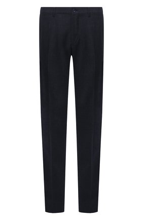 Мужские шерстяные брюки ZILLI темно-синего цвета, арт. M0U-40-38N-D6605/0001 | Фото 1