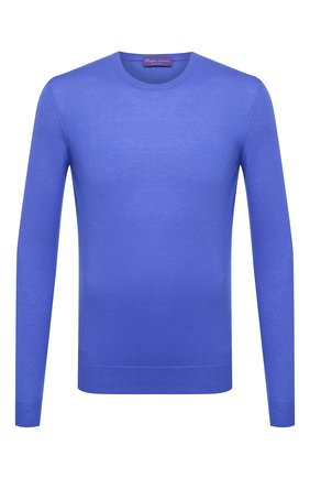 Мужской кашемировый джемпер RALPH LAUREN синего цвета, арт. 790509395 | Фото 1