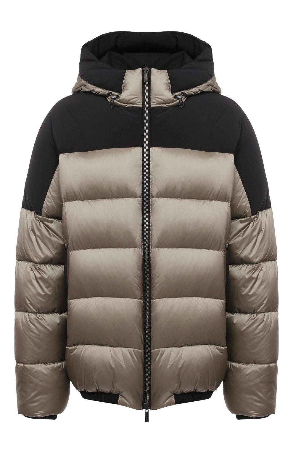 Мужская пуховая куртка MOORER хаки цвета, арт. RICCARD0-SHK/A20M490N0TE   Фото 1
