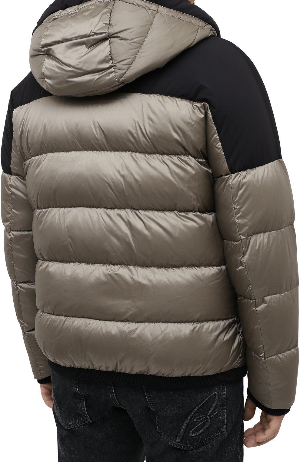 Мужская пуховая куртка MOORER хаки цвета, арт. RICCARD0-SHK/A20M490N0TE   Фото 4