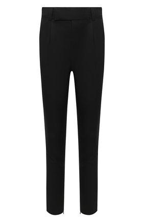 Мужские шерстяные брюки ERMENEGILDO ZEGNA черного цвета, арт. 8CFG17/75XEN2 | Фото 1