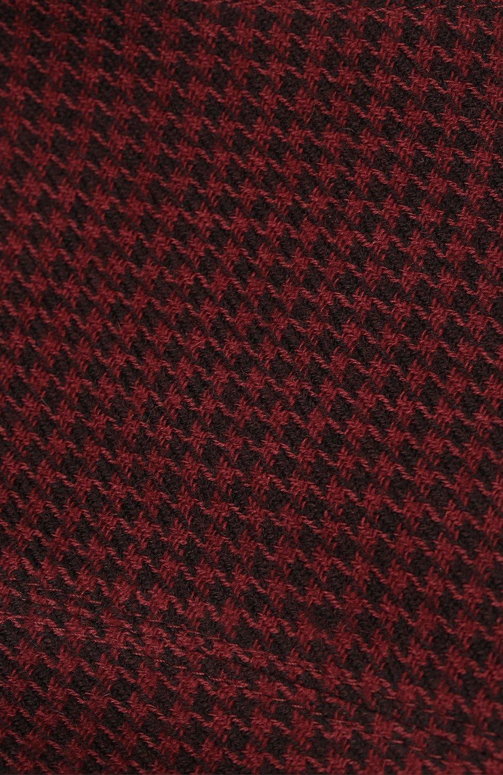 Мужская кепи из шерсти и кашемира ERMENEGILDO ZEGNA бордового цвета, арт. Z8I13/B8L | Фото 3
