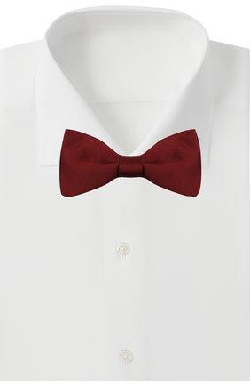 Мужской шелковый галстук-бабочка ERMENEGILDO ZEGNA бордового цвета, арт. Z8D60/4SE | Фото 2