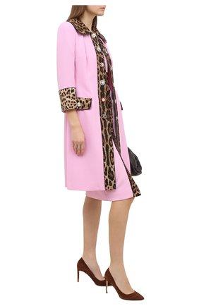 Женские замшевые туфли RUBEUS MILANO коричневого цвета, арт. RU7/2 | Фото 2