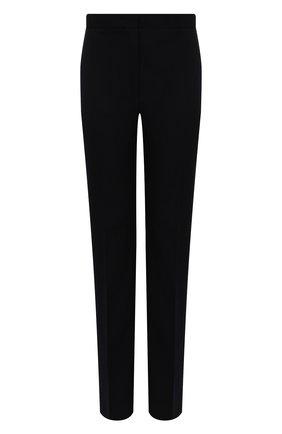 Женские шерстяные брюки JIL SANDER темно-синего цвета, арт. JSWR305800-WR202000 | Фото 1