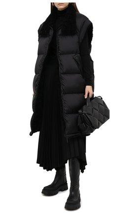 Женский пуховый жилет YS ARMY PARIS черного цвета, арт. 21WFG01610A26W | Фото 2