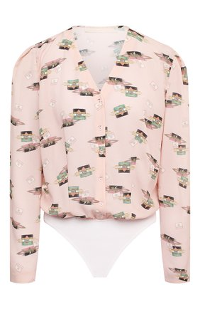 Женское боди ULYANA SERGEENKO розового цвета, арт. BDY002FW20P 1313т20 | Фото 1