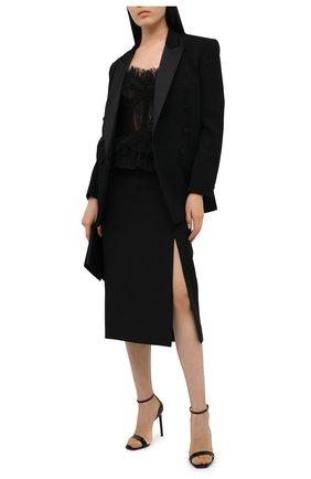 Женская топ-бюстье ZUHAIR MURAD черного цвета, арт. TPP20034/LMIX007   Фото 2
