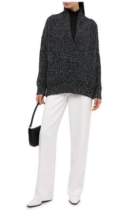 Женский свитер из шерсти и кашемира VALENTINO серого цвета, арт. UB0KC18M5YW   Фото 2
