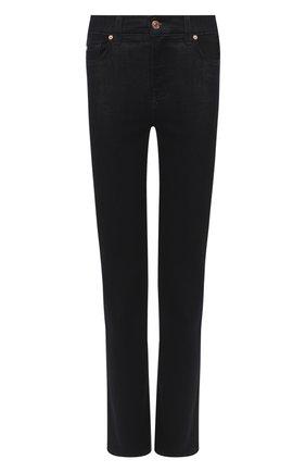 Женские джинсы 7 FOR ALL MANKIND темно-синего цвета, арт. JSWSA770RR | Фото 1