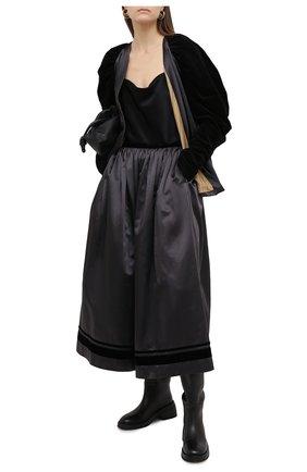 Женская юбка UMA WANG серого цвета, арт. A0 W UW2006 | Фото 2