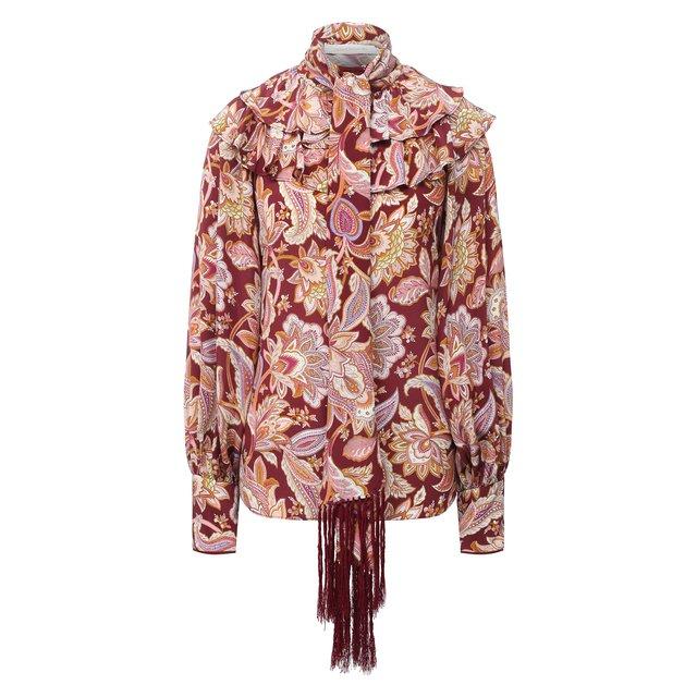 Шелковая блузка Zimmermann