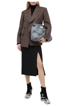 Женский шерстяной жакет MAISON MARGIELA коричневого цвета, арт. S51BN0386/S53200 | Фото 2
